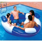 Person Inflatable Pool (Swimline Sofa Island Lounger Pool Float)