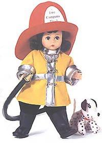- Madame Alexander Fire Fighter Wendy