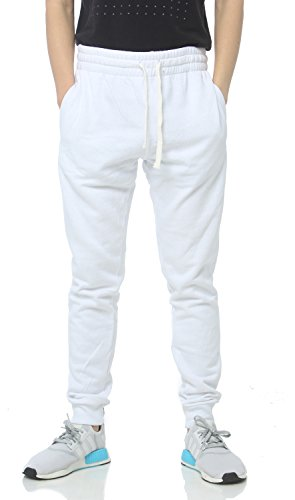PROCUBE USA ProCube Men's Casual Jogger Sweatpants Basic Fleece Marled Jogger Pant Elastic Waist (XX-Large, (20 Fleece Pants)