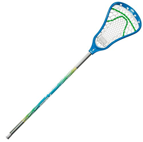 STX Lacrosse Fortress 100 Complete Stick with Crux Mesh Pocket