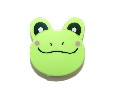 Quilted Frog (Pandoras Upholstery Retractable Small Tape Measure Metro Zoo - Green Frog)