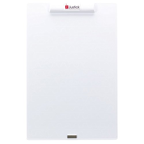 Overlay White Clear (Justick by Smead, Frameless Mini Electro Dry-Erase Board with Clear Overlay, 16