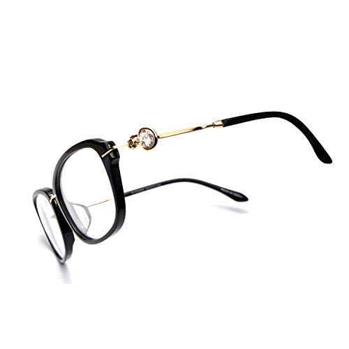 - Eyeglasses With Clear Lenses OCCI CHIARI Fashion Aloi Acetate Frame (Red/blue, 54)