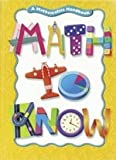 Math to Know, Mary Cavanagh, 0669471542