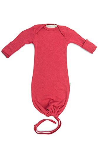 Pure Merino Wool Baby Sleep Sack  Kids Infant Gown Sleeper Bag  Pink Newborn