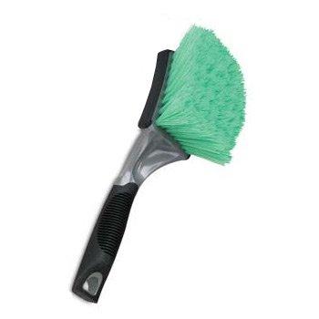 Detail King Professional Grade Green Bristle Soft Grip Grill & Body Car Wash Brush