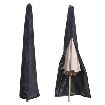 (Outdoor Umbrella Cover - Black Umbrella Cover - Outdoor Waterproof Patio Umbrella Cover Shade Protective Sunshade Sun Shelter Shed Zipper Bag ( Umbrella Cover Waterproof))