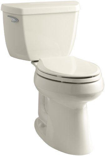 Kohler K-3713-47 Highline Classic Comfort Height Two-Piece Elongated Toilet with 10