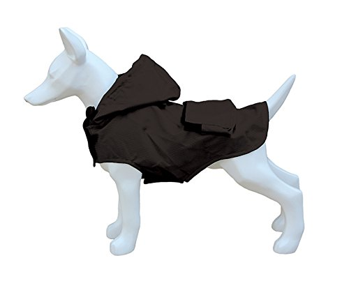 Freedog FD5000938 - Impermeable Plegable Bolsillo, para Perro, Color Negro Freedog Import SL