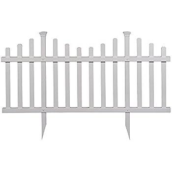Amazon.com : WamBam Fence WF29001 Zippity Garden Fence