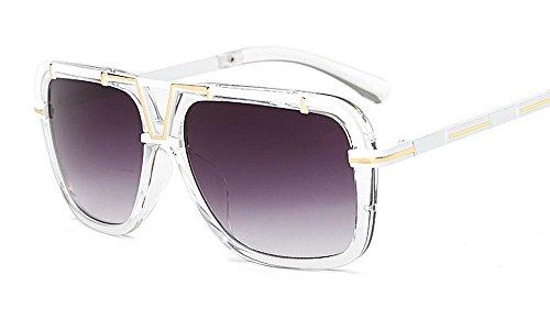 Luxury Oversized Goggle Sunglasses Women Brand Designer Shades Big Frame - Reyban Goggles