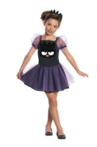 [Rubies Costumes Hello Kitty Badtz Maru Child Costume Black/Purple Medium (8-10)] (Badtz Maru Costume)
