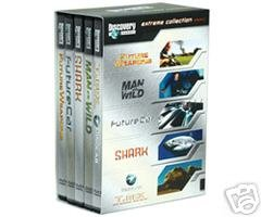 "Discovery Channel ""EXTREME COLLECTION"" DVD set - FutureWeapon, Man vs. Wild"