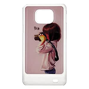 Camera Kid Pattern Protective Hard Back Case Cover for Samsung Galaxy S2 I9100