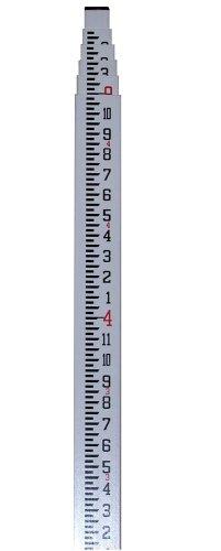 CST/berger 06-916 Measuremark 16-Foot Grade Rod in Feet, Tenths and Hundredths