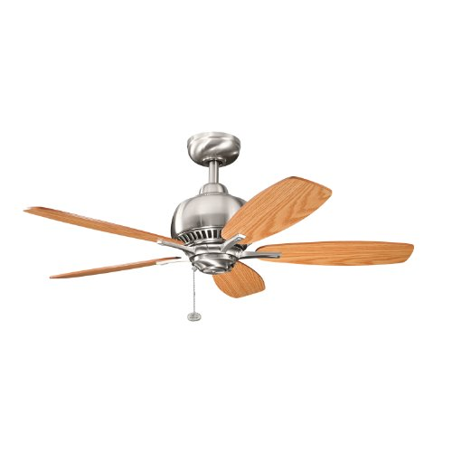 Kichler 300123BSS, Richland Brushed Stainless Steel 42 Ceiling Fan