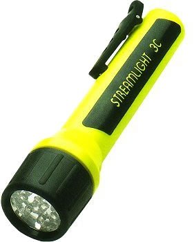 Streamlight 33202 ProPolymer LED Flashlight, 3C (Sold Separately), Black (Black Flashlight Propolymer)