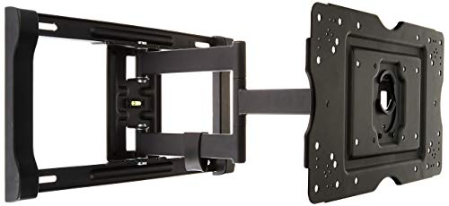 AmazonBasics Heavy-Duty, Full Motion Articulating TV Wall Mount for 32-inch to 80-inch LED, LCD, Flat Screen TVs (80 Inch Flat Screen)