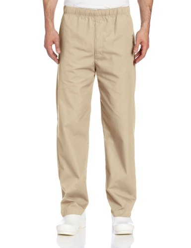 - Landau Men's Big and Tall Durable and Comfortable Elastic Waist Drawstring Scrub Pant, Sandstone, 5X-Large
