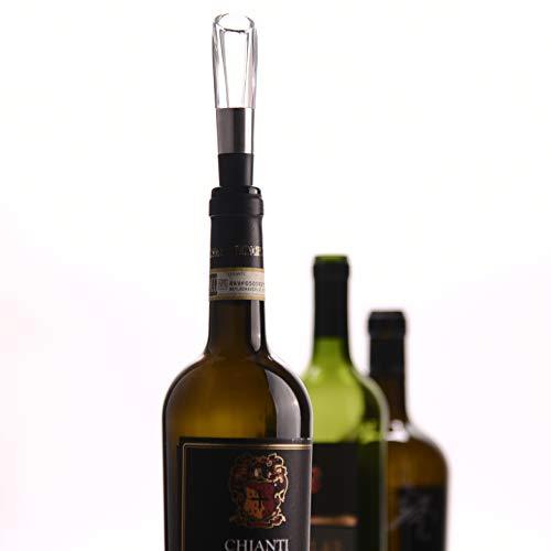 Cheer moda Cheer PourerPremium Aerating Decanter Spout for Wine Lovers Women MenFits Most Bottles