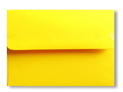 Cards 100 Response Card (Bright Yellow 100 Boxed A1 Envelopes (3-5/8 X 5-1/8) for 3-3/8 X 4-7/8 Response Enclosure Invitation Announcement Wedding Shower Communion Christening Cards By Envelopegallery)
