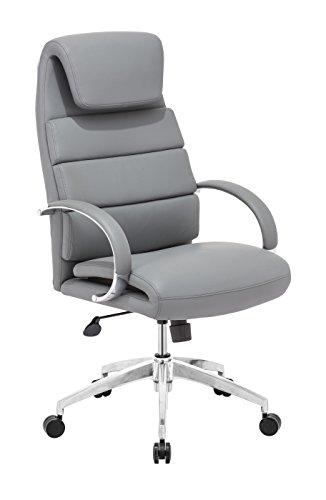 Zuo Lider Comfort Office Chair Gray