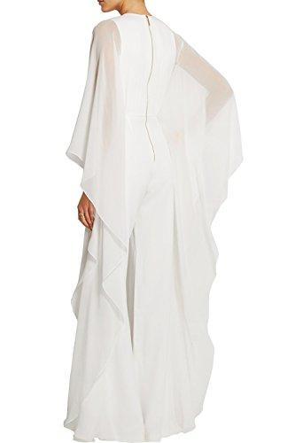 5cb833d81175 Yacun Tailleur Pantalon Femme Veste Combinaison Chic à Manches Longues en  Mousseline de Soie pour  Amazon.fr  Vêtements et accessoires