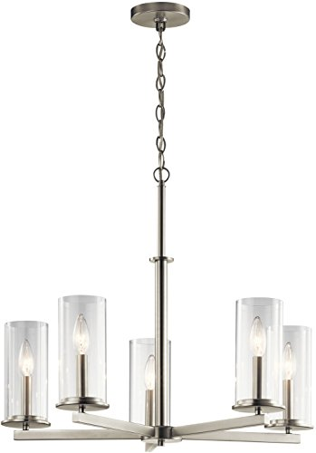 Kichler Five Light Chandelier 43999NI Five Light Chandelier