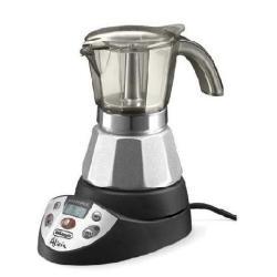 DeLonghi Alicia EMKE 21, LCD, Negro, Plata, 220/240 V, 50/60 Hz, 185 x 120 x 170 mm, 800 g - Máquina de café