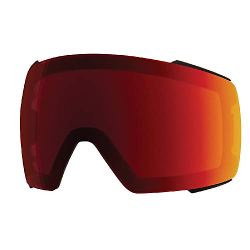 - Smith Optics IO Mag Adult Replacement Lense Snow Goggles Accessories - Chromapop Sun Red Mirror/One Size