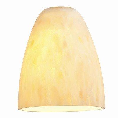 Access Lighting 941RJ-BDY Fire Pendant Glass Shade, Burgundy Glass Finish by Access Lighting