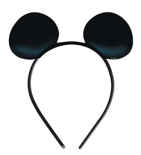 [Mickey Ears Costume Accessory] (Mickey Mouse Halloween Costumes For Men)