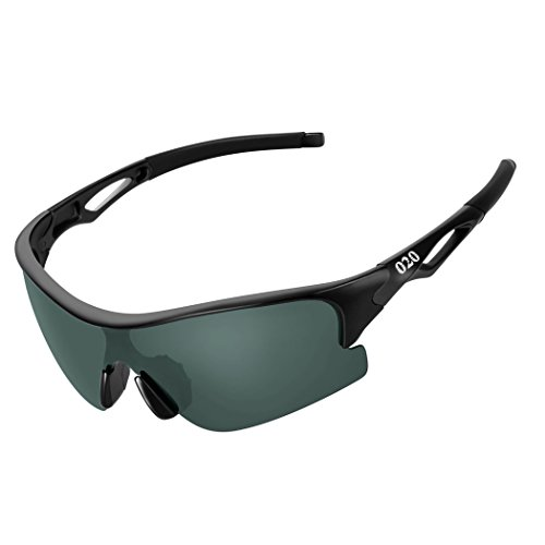 O2O Polarized Sports Sunglasses for Women Men Teens Youth Biking Running Golf Unbreakable Frame - Sunglasses Polarized Proof Scratch