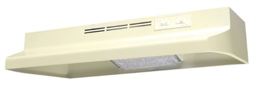 Air King AV1425 Advantage Convertible Under Cabinet Range Hood with 2-Speed Blower and 180-CFM, 7.0-Sones, 42-Inch Wide, Almond -