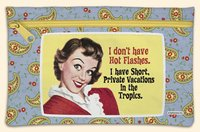 - Zip Bag I Don't Have Hot Flashes. I Have Short Private Vacationsw Int the Tropics.fiddler's Elbow Hand Bag
