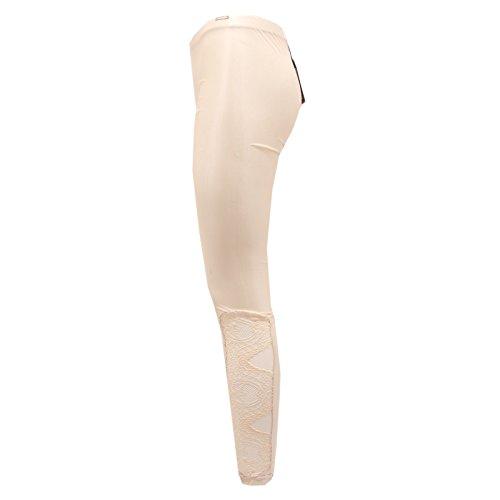 Pepe Woman 0304q Pantalone Patrizia Beige Leggings Trouser Donna dOA0qwxC