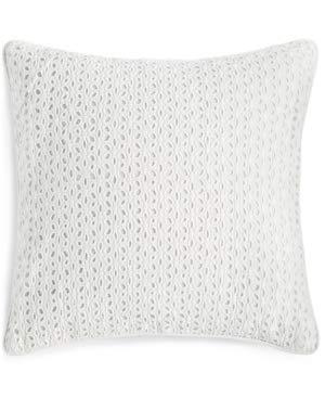 - Martha Stewart Collection Eyelet Diamond White 18
