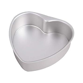 bakerdream forma de corazón para tartas de horno antiadherente pan Cheesecake pan con forma de corazón