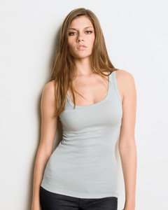 Ladies 'sheer Verde Bella Tank Mini Canvas Musgo Rib RU5wwqHxF