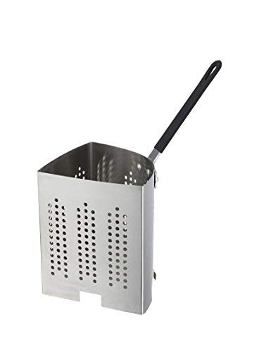 Winco APS-INS, Quarter-Size Stainless Steel Inset For 20-Quart Pasta Cooker, 0.7 mm Thick Pasta -