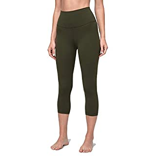Lululemon Align Pant Crop Length Yoga Pants, 21 Inch Inseam, Dark Olive, 2