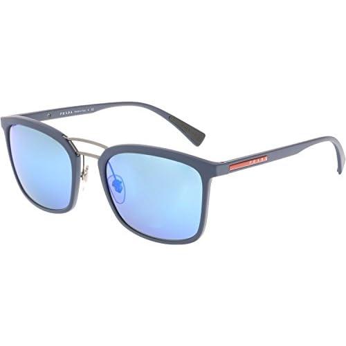 91dd04d148 Prada Linea Rossa 0PS 03SS, Gafas de Sol para Hombre, Blue Rubber, 56
