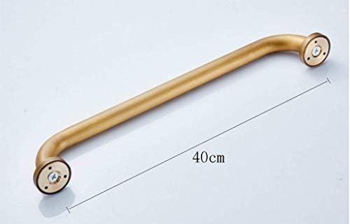 HJXSXHZ366 Ältere Patienten Hilfshandlauf Bar Bad, Dusche Stäbe aus einem Kupfermaterial Rutsch 35 cm, 40 cm (Size : 40cm)