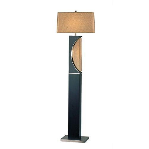 NOVA of California 1736 Half Moon Floor Lamp, One Size, Dark Brown