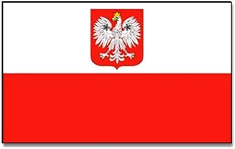 Flags4You – Bandera de Polonia con águila, 60 * 90 cm: Amazon.es: Deportes y aire libre