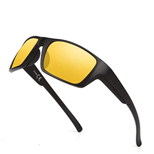 Sunglasses For Men Women, Uv Protection Sun Glasses Cycling Driving Sports Fishing Outdoor Eyewear Classic ()