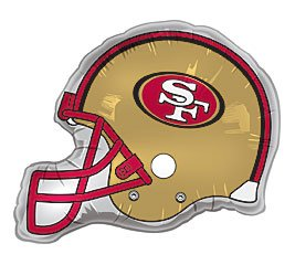 San Francisco 49ers Football Birthday Party Balloons Decorations Supplies