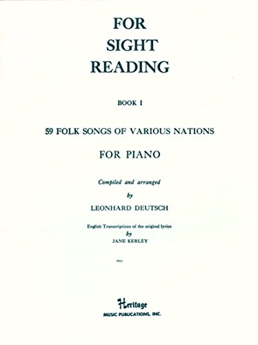 59 Folk Songs of Various Nations for Piano (For Sight Reading, Book 1) (Crosby Entertainment Center)