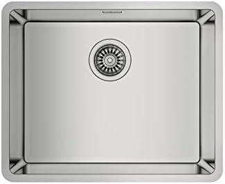 fregadero de cocina bajo encimera teka BE lineas rs15 50.40 acero inoxidable