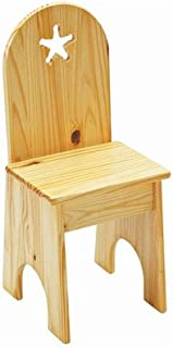 product image for Star Kids Desk Chair Finish: Sanded / Unfinished